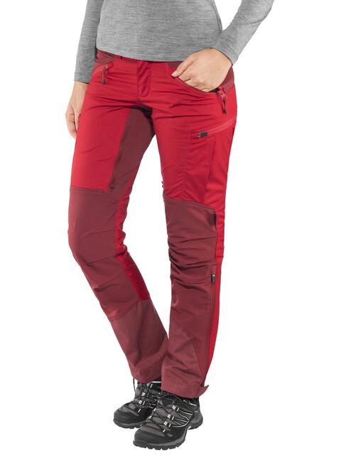 Lundhags W's Makke Pants Regular Red/Dark Red